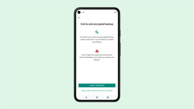 WhatsApp在安卓和iOS上推出端到端加密聊天备份