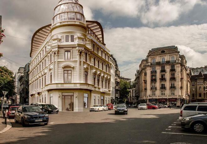 有一个联队买下了罗马尼亚雅典娜神庙旁边的历史建筑 作为专属公寓