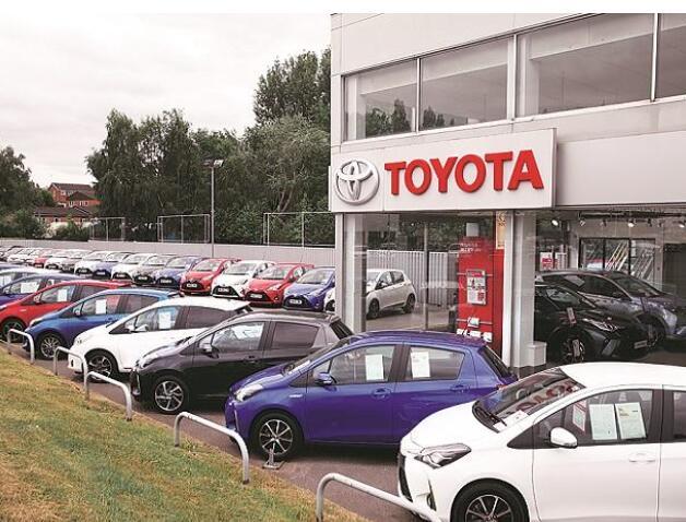 丰田因零部件和芯片短缺而削减年度汽车产量目标