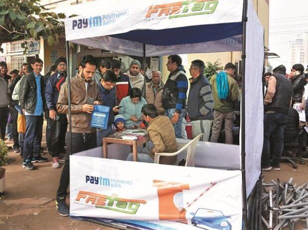 Paytm将在印度推出基于FASTag的停车服务