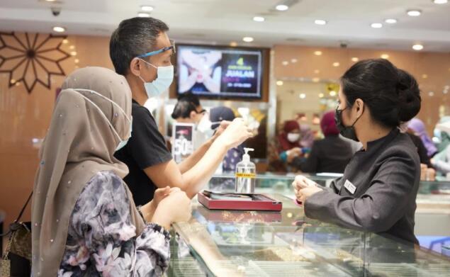 马来西亚对黄金的需求依然强劲